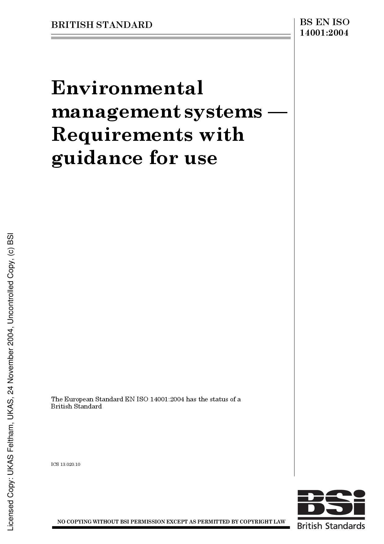 iso 14001 version 2015 standard pdf free download